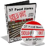 Emegerncy Food Checklist